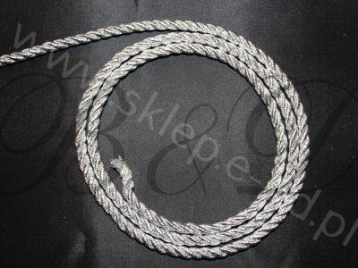 sznur metalizowany grubość 6mm